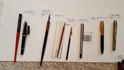 lot of vintage fountain pens                (2)