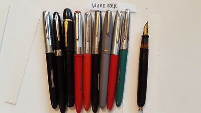 lot of vintage fountain pens                (7)