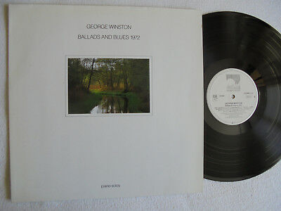 George Winston ‎– Ballads And Blues 1972 - LP
