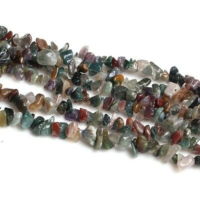 """16""""LWater Agate Gemstone Jewelry Loose Chip Beads 1 Strand"""