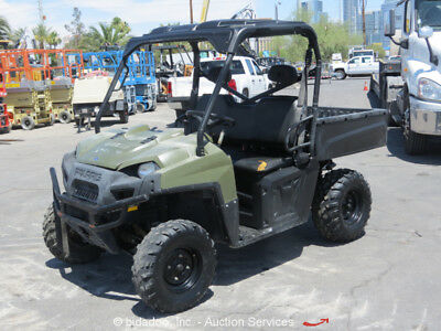 2012 Polaris Ranger 4WD Side-By-Side Utility Cart UTV Dump Bed bidadoo