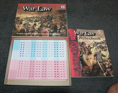 Rolemaster - War Law - Rulesbook