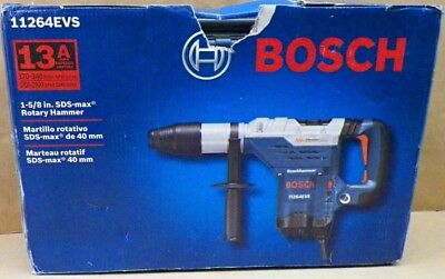 BOSCH 11264EVS SDS Max Rotary Hammer Combination 13A 120V NEW