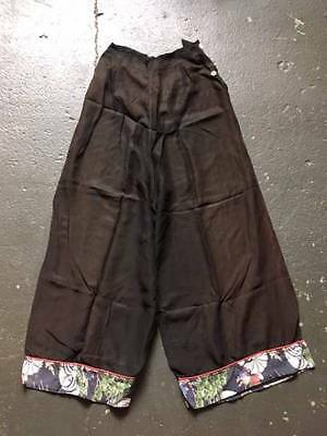 ladies vintage 1940's 50's buggy pants oriental mothif rare