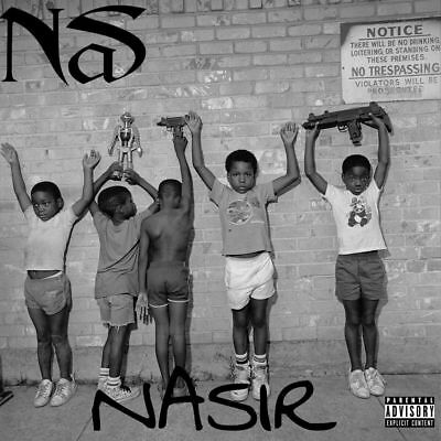 NAS Nasir GOOD MUSIC Kanye West (Mixtape) CD Album Rap PA Full CD Back Cover