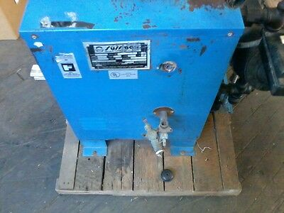 Sussman ES12 Electric Steam Boiler, 12 KW, 100 psi, Used, 208 Volt/42 amp/3 ph