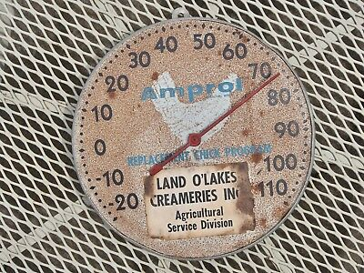 Vintage Amprol Replacement Chick Program Thermometer