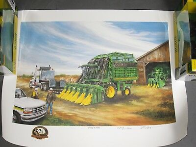 "JOHN DEERE ART PRINT - ""Continuing the Tradition"" by R L CROUSE - #4008"