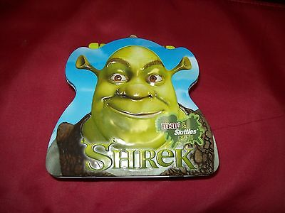 Collectible Empty Shrek Tin/lunch Box From Dream Works,llc No Tags