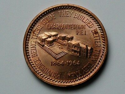 Charlottetown PEI 1864-1964 Centennial Confederation Conference of Canada Medal
