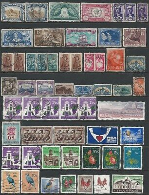 SOUTH AFRICA, GHANA, NIGERIA: Collection on 9 scans.