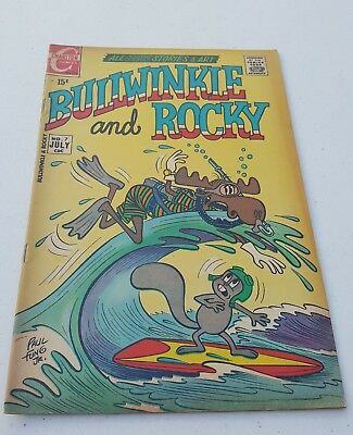 Charlton comic book...Bullwinkle and Rocky #7....July 1971