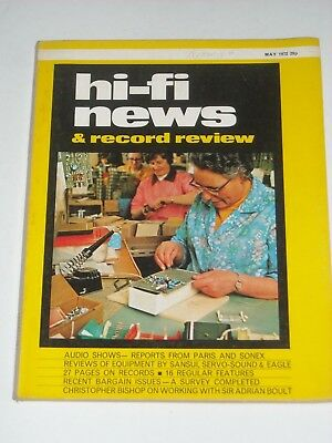 HI-FI NEWS X3 Copies March/April/May 1972 AMPLIFIERS Turntables STEREO etc