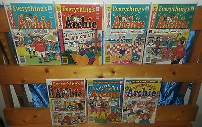 Fawcett Comics Archie Series Everything's Archie lot of 7