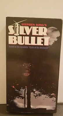 Silver Bullet Stephen King Gary Busey Corey Haim Oop Vhs New Video Terry O'quinn
