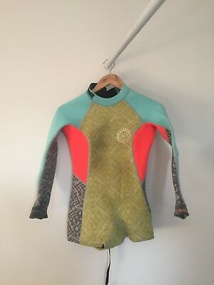 Wetsuit Billabong Womens Surfing Capsule Size 6