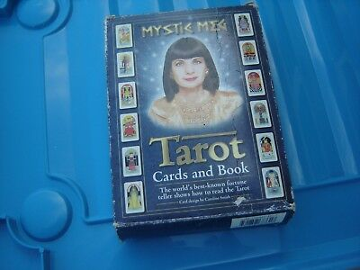 Mystic Meg Tarot Cards And Book Vintage Boxed
