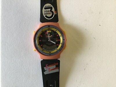 Vintage new old stock casio exercise trainer