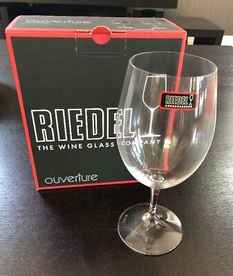 Bnib Riedel Ouverture Magnum Glass Set Of 2 Wine Glasses Non Lead Crystal