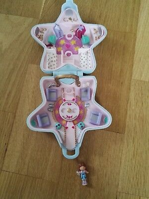 Polly Pocket Sternendose mit  Figur