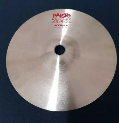 """Paiste 2002 Accent Cymbal 6"""""""