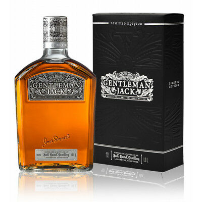 Jack Daniels Gentleman Jack Time Piece Limited Edition 1 Ltr Gift Boxed
