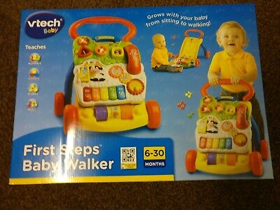 Vtech First Steps Musical Baby Walker from 6 Months BRAND NEW IN BOX