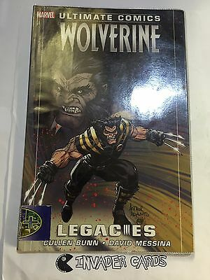 Ultimate Comics Wolverine Legacies Cullen Bunn Marvel Comics Graphic Novel Book