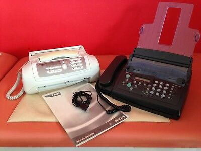 Faxgerät mit Telefon, Set, 1 x Philips magic fox und 1 x Olivetti FAX-LAB 115