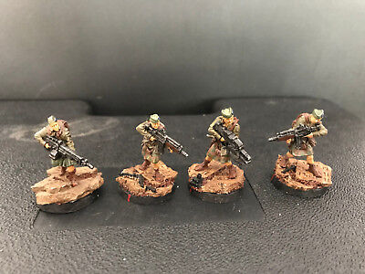 Infinity the Game, Ariadna, CALEDONIAN VOLUNTEERS / pro paint