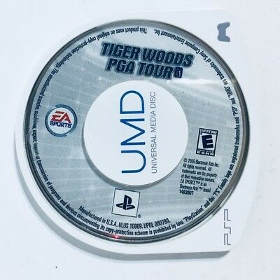 Tiger woods PGA Tour Playstation Portable (PSP) Replacement Disc Only