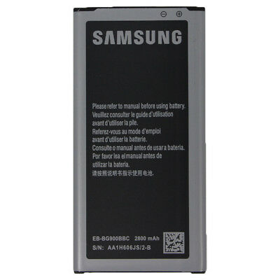Authentic OEM Samsung 2800mAh Battery For Samsung Galaxy S5 i9600 G900 EB-BG900,