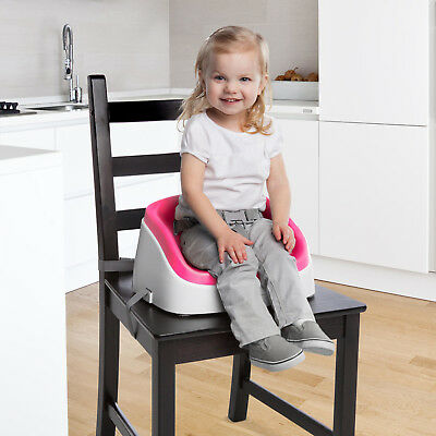 Toddler Booster Seat Magenta Portable With Harness Kids Must See On Sale Now