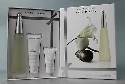 L'eau D'issey by Issey Miyake for Women 3 PC Gift Set Beauty Supplies