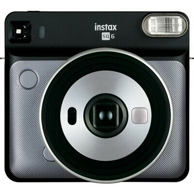 Fuji Photo Instax Square SQ6 Instant Film Camera - Graphite Gray