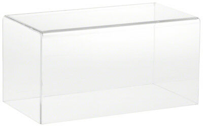 """Plymor Brand Clear Acrylic Display Case with No Base 10"""" W x 5"""" D x 5"""" H"""