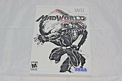 MadWorld (Nintendo Wii, 2009) Brand New Factory Sealed