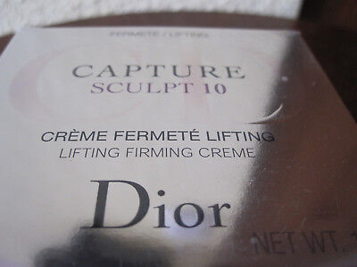 *Dior* Capture Sculpt 10 - Creme fermete Lifting - 50 ml - Neu + Ovp