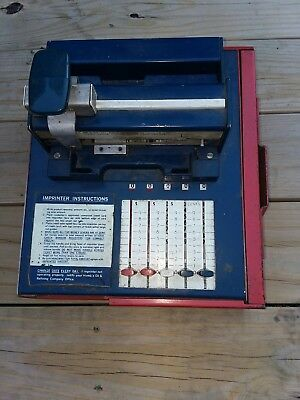 50+ Year Old Credit Card Imprinter/ Addressograph Multigraph Corp.