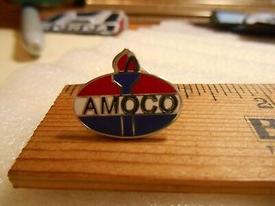 AMOCO  Gas & Oil Torch Logo Lapel Pin