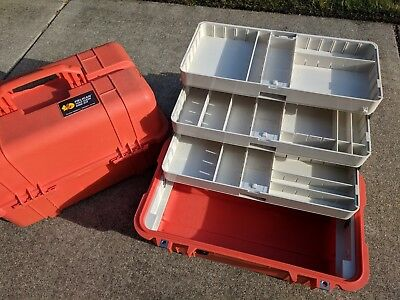 Pelican Case 1460EMS EMT Medical Trauma Bag CPR tackle 1460 EMS AED zoll IFAK ER