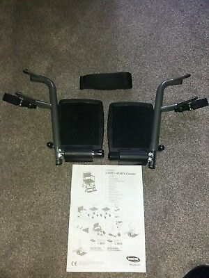 Invacare h720t / h720t4 cascata commode footrests
