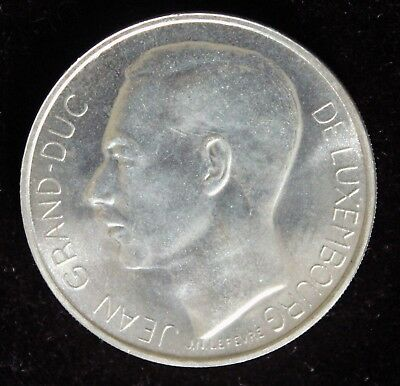 Spectacular 1964 Luxembourg 100 Francs Silver