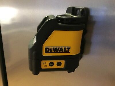 dewalt DW088 laser cross level