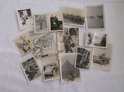 Lot of 13 Vintage B&W Photographs Military Germany Great Britain 1943, 1944