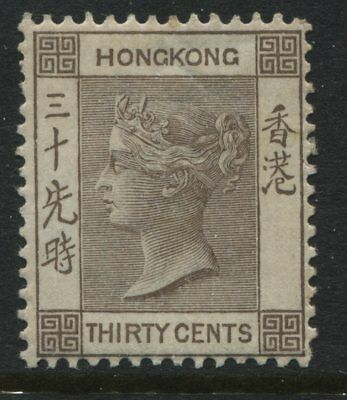 Hong Kong QV 1901 130 cents brown mint o.g.
