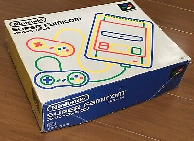 Nintendo Super Famicom - ALL BOXED AND WORKING CLEAN CONDITION * JAPANESE
