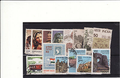 India - 1980S 4 Used Sets