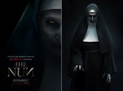 "The Nun The Conjuring Horror Remake Movie Poster Print 13x20/"" 20x30/"" 24x36/""#1"