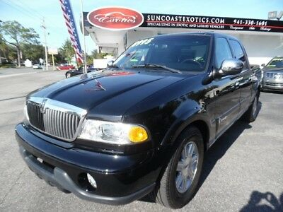Blackwood Truck 2002 Lincoln Blackwood, Black with 55,069 Miles available now!